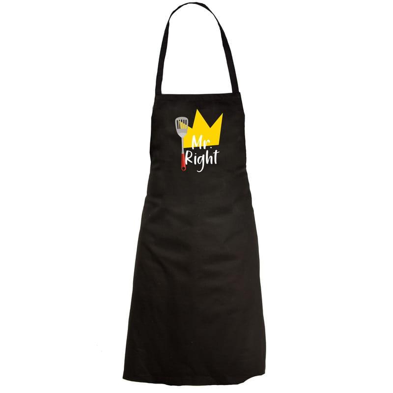 Mutfağın Kral ve Kraliçesi Esprili Mutfak Önlüğü