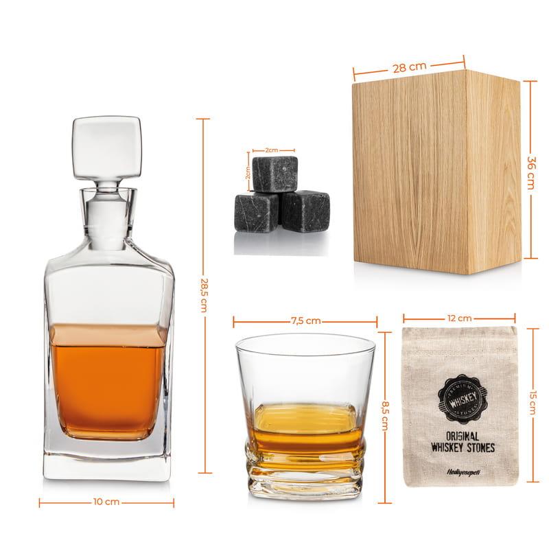 Retro Tasarımlı Speyside Viski Seti