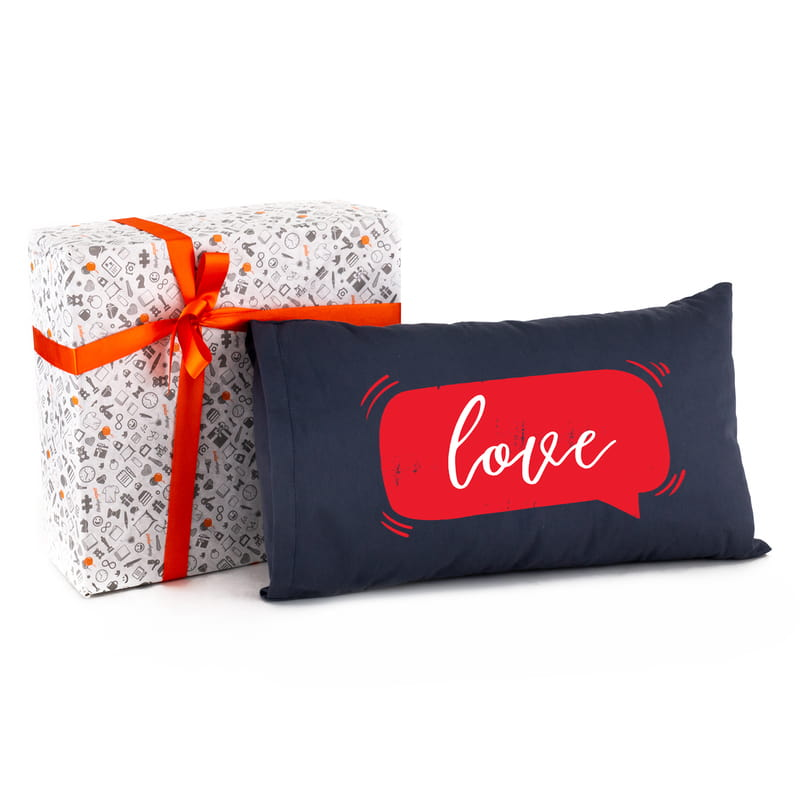 Sevgiliye Hediye Love Mesajlı Hediye Yastık