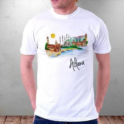 Adana illüstrasyon Desenli Tişört