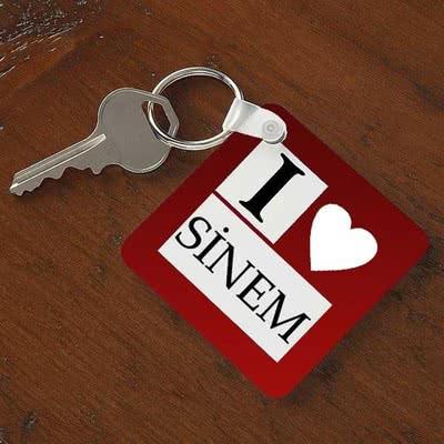 Anahtarlık - Seni Seviyorum