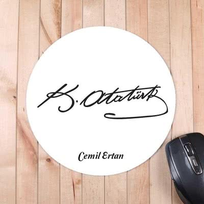 Atatürk İmzalı Mousepad