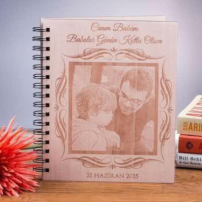 Babalar Günü Hediyesi Resimli Fotoğraf Albümü