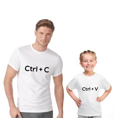 Babasının Kopyası Baba Çocuk Tişörtü