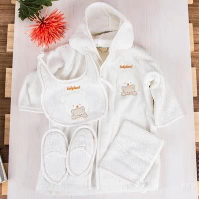 1 Yaşındaki Bebeğe Hediye : 4'lü Bornoz Seti