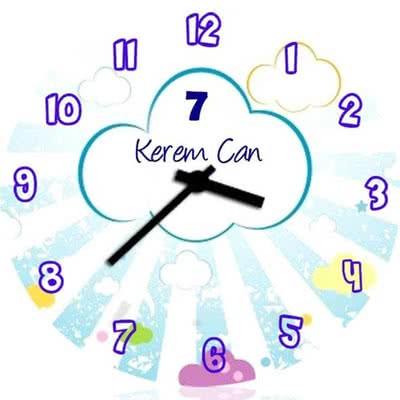 Çocuklara Özel Hediye Duvar Saati