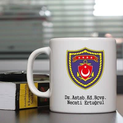 Deniz Kuvvetlerine Özel Kahve Kupası
