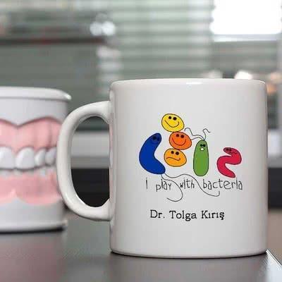 Doktorlara Özel Hediye Baskılı Kupa
