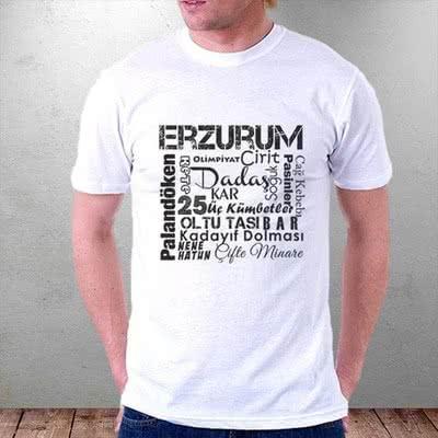 Erzurum Dadaşlara Özel Baskılı Tişört