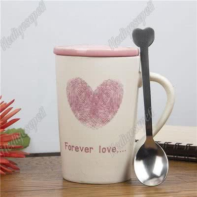 Forever Love Kapaklı Kupa