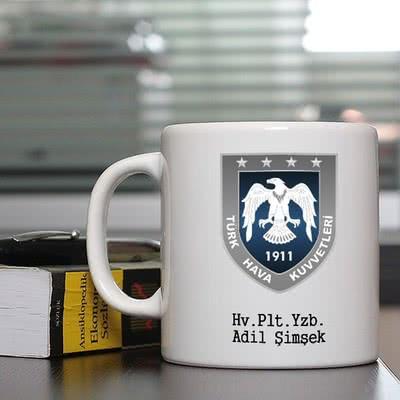 Hava Kuvvetlerine Özel Kahve Kupası