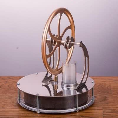 İlginç Hediye Olarak Stirling Motoru