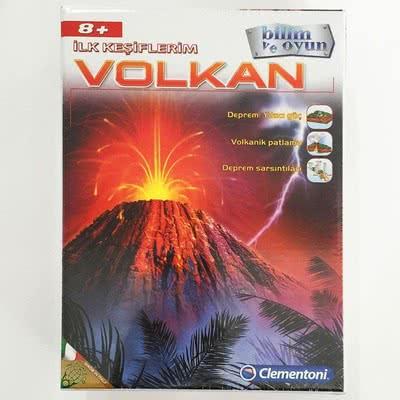 İlk Keşiflerim Çocuk Oyunu Volkan