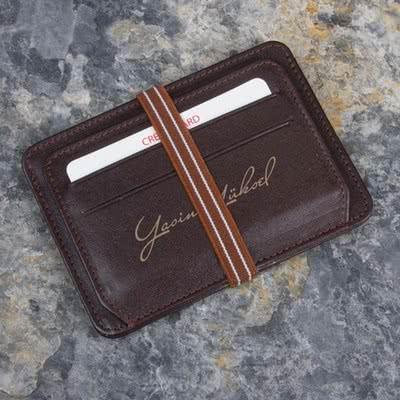 Erkeğe Özel Hediye Deri Kredi Kartlık