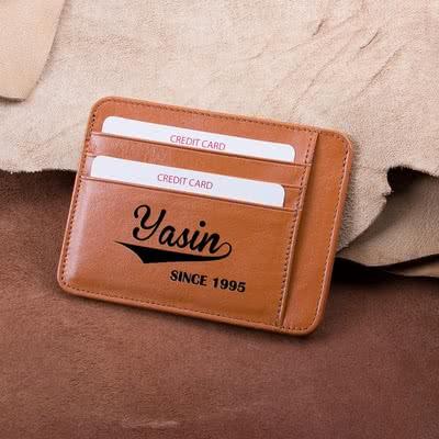 İsim ve Tarihli Kredi Kartlık