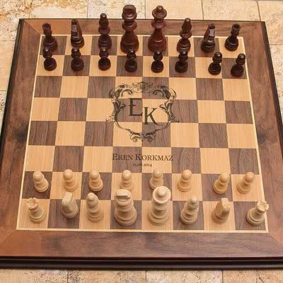 Sevgiliye Özel Tasarım Hediye satrançt