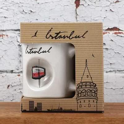 İstanbul Taksim Tasarımlı Kupa