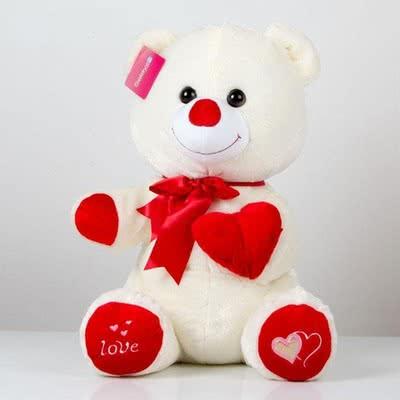 Sevgiliye Özel Romantik Peluş Ayıcık