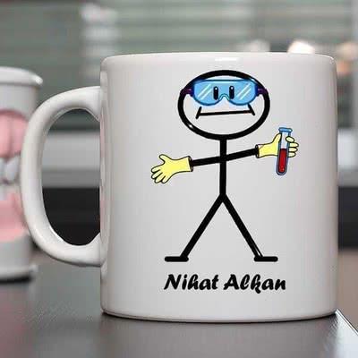 Kimyacılara Özel Kahve Kupası