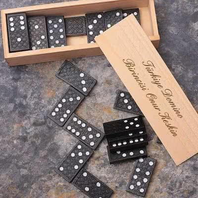 Kişiye Özel Hediye Domino Seti