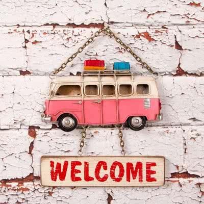 Minibüs Tasarımlı Kapı Yazısı