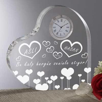 Kalbinizi Masa Saati Olarak Armağan Edin
