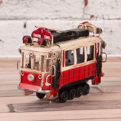Babaya Özel Hediye Tramvay Biblosu