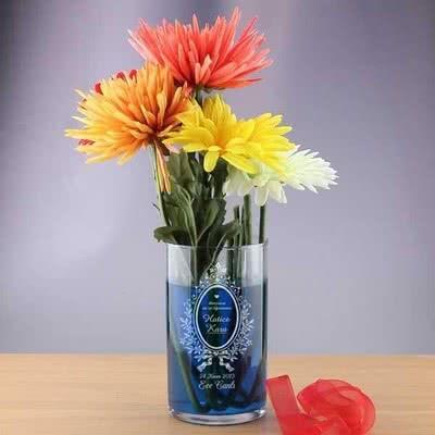 Öğretmene Özel Hediye İsimli Vazo