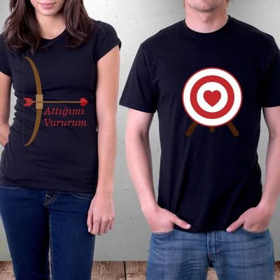 Sevgili Kombini 2li Tişört