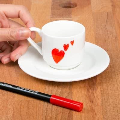 Sevgiliye Hediye Ben Yaptım Kahve Fincanı Seti