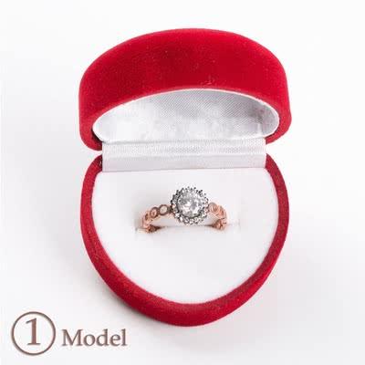 Eşe Hediye Rose Serisi Gümüş Yüzük Modelleri
