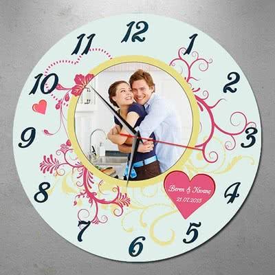 Sevgilinize Hediye Duvar Saati