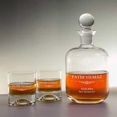 Sevgiliye Hediye Viski Seti