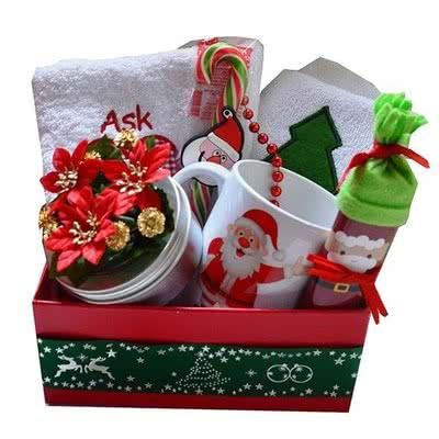 Sevgiliye Yılbaşı Hediyesi Kırmızı Kutulu Set