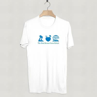 Yaz Tatili İçin İcon Tasarımlı Tişört