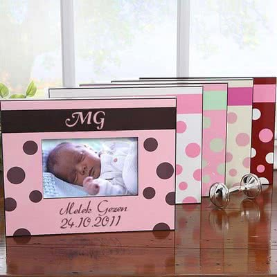 Yeni Doğan Bebeğe Hediye Resim Çerçevesi