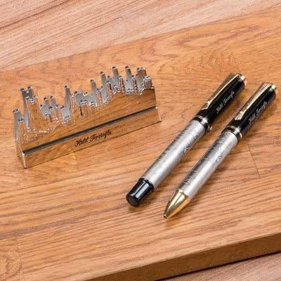 Yeni İş Hediyesi Kartvizitlik Kalem Seti