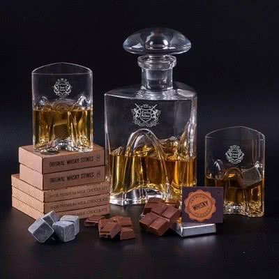 Yıl Dönümü Hediyesi Premium Viski Seti