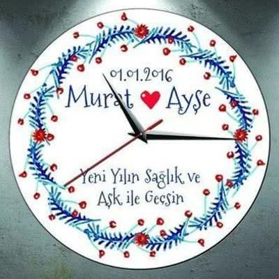 Sevgiliye Özel Duvar Saati