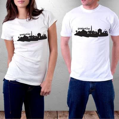 Gaziantep Şehrine Özel Tasarımlı Baskılı Tişört