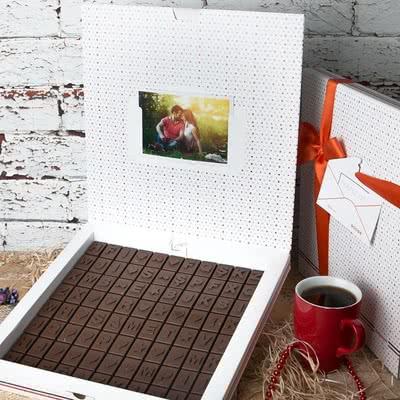 Özel Gün Hediyesi Harf Çikolata