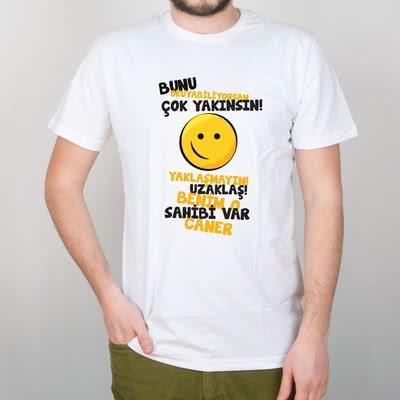 Kıskanç Sevgiliye Hediye Hediye Tişört
