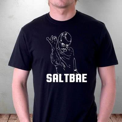 Erkek Sevgiliye Hediye Saltbae Tasarım T-shirt