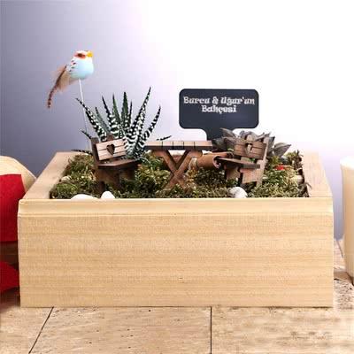 Anneye Özel Hediye Minyatür Bahçe