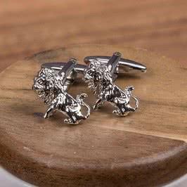 Aslan Kabartmalı Kol Düğmeleri
