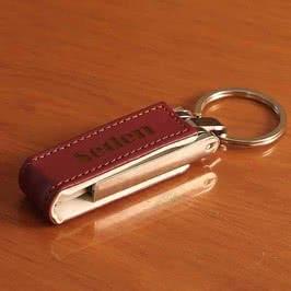 Deri Kılıflı USB 8 GB