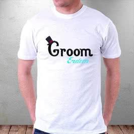 Düğün Günü Hediyesi Gelin Damat Tişörtü