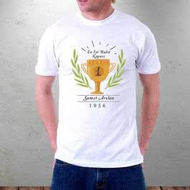 En İyi Babaya Babalar Günü Hediyesi Tişört