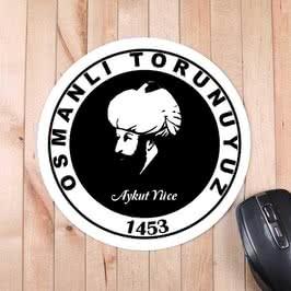 Fatih Sultan Mehmet Portresi Mousepad