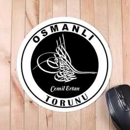 Fatih Sultan Mehmet Tuğralı Mousepad